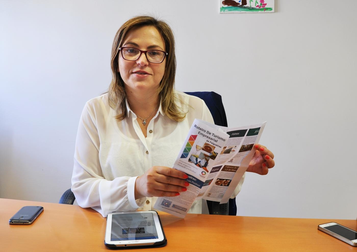 Adelina Silva, vereadora do Turismo na Câmara de Felgueiras