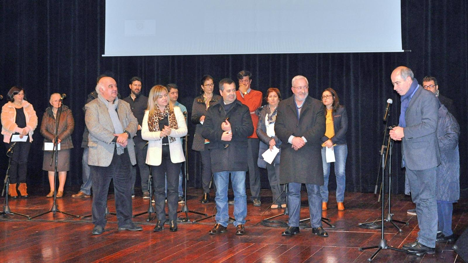 Entrega dos prémios do Concurso de Présepios de Natal em Felgueiras