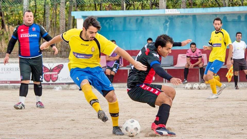 27a3dc4d6e Lodares goleia Nogueira em jogo da primeira jornada da Taça d´Trivela