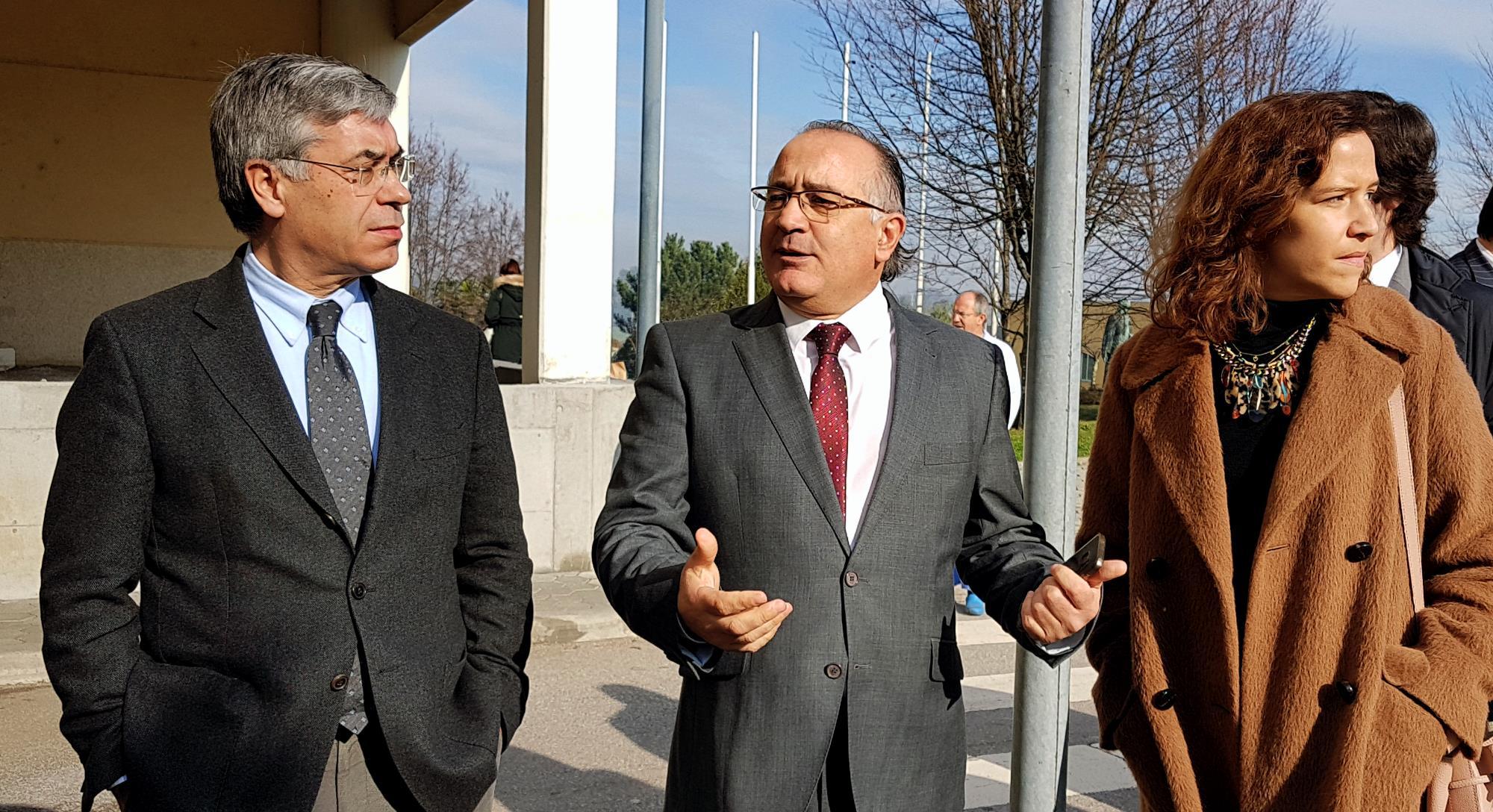 O presidente da ARS-N visitou recentemente o CHTS