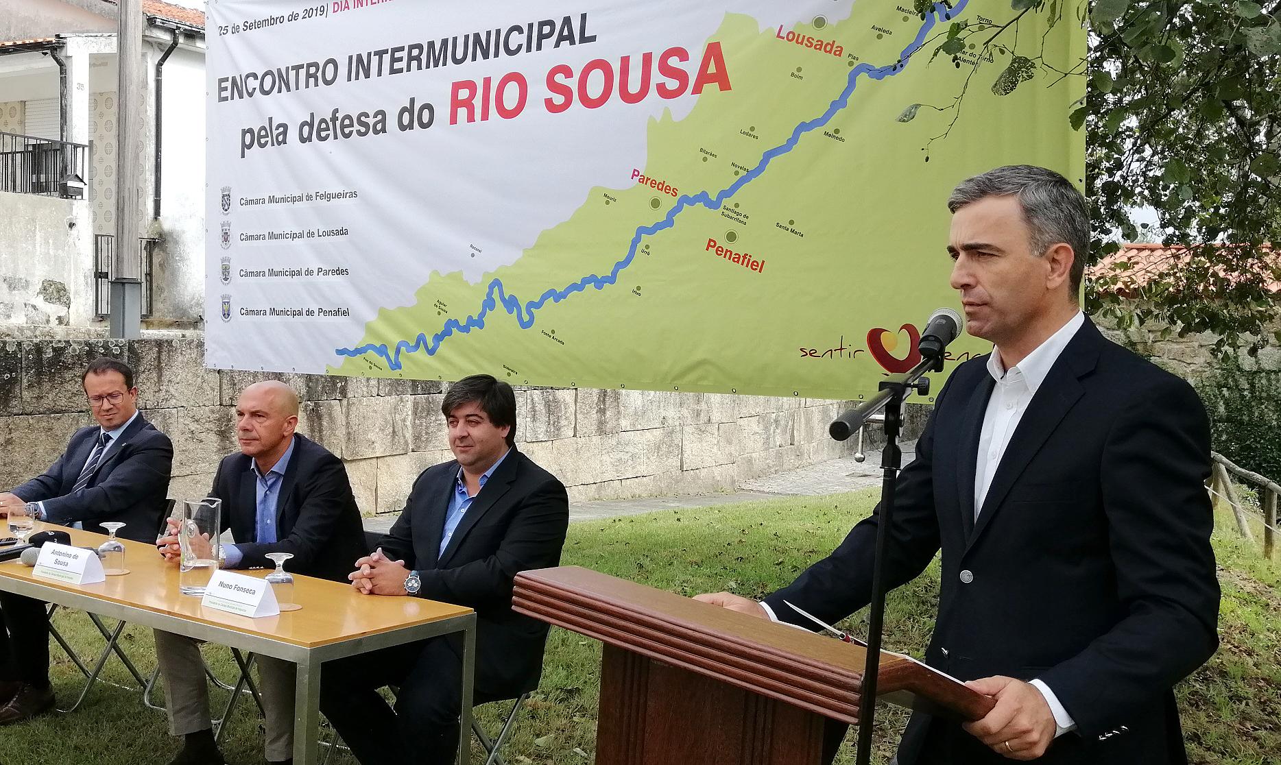 Pedro Machado rio Sousa em Penafiel